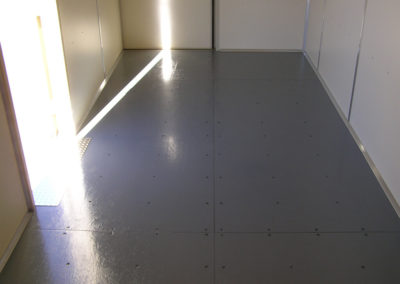 14 Gauge Steel Flooring