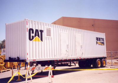 40' Rust - container w side doors