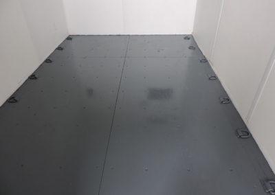 Grey Steel Floor