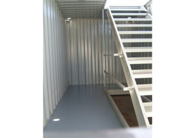 Handrails Inside Containers