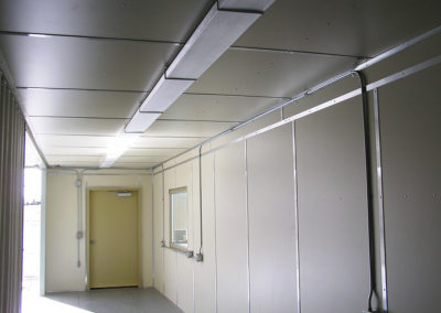 Interior View of Training Access