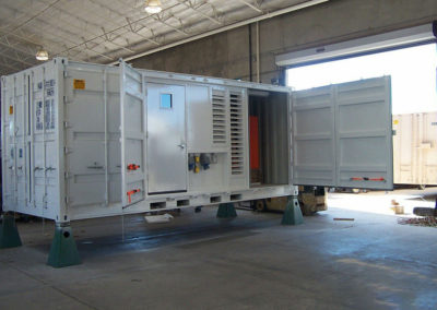 Openside Container with Personnel Door