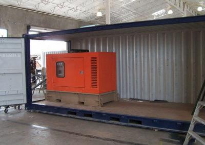 Start of Generator Enclosure Project