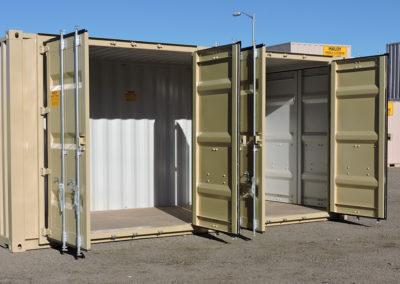 Opened Cargo Doors