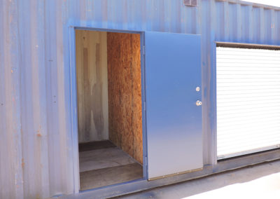 Personnel and Roll-up Door