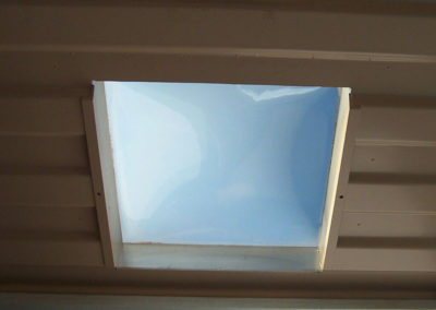Small Skylight interior
