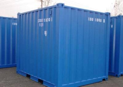 10' Blue Steel Container