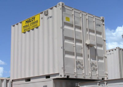 10' Rental With Lockbox Container