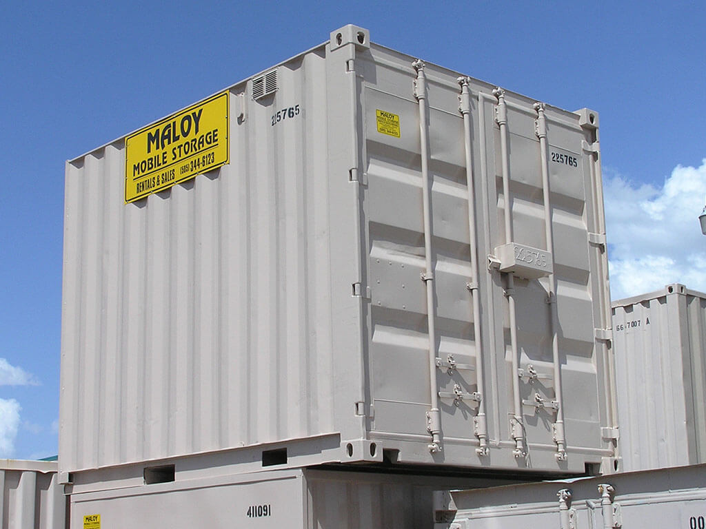 10' Storage and Shipping Containers | Maloy Mobile Storage