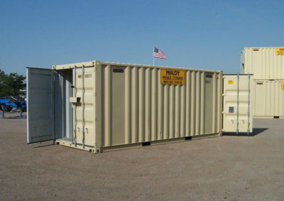 20' Double Doors at Both Ends Container