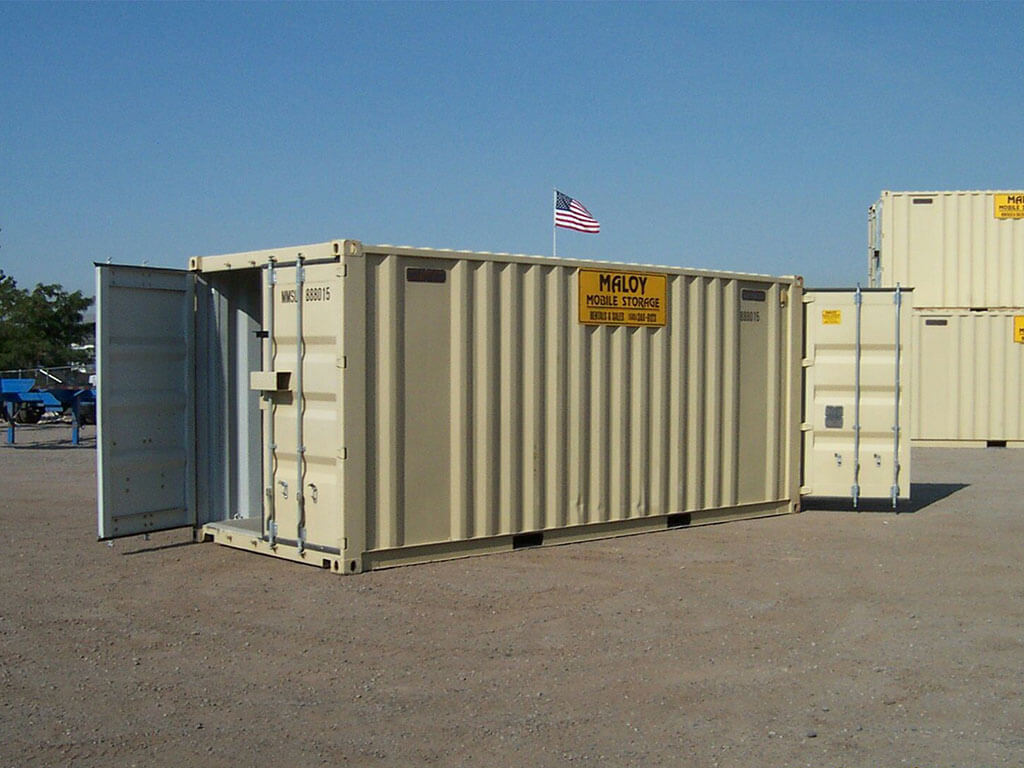 20 Storage And Shipping Containers Maloy Mobile Storage