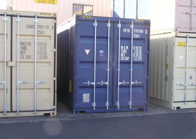 20' New High Cube Container (9' 6 inches tall)