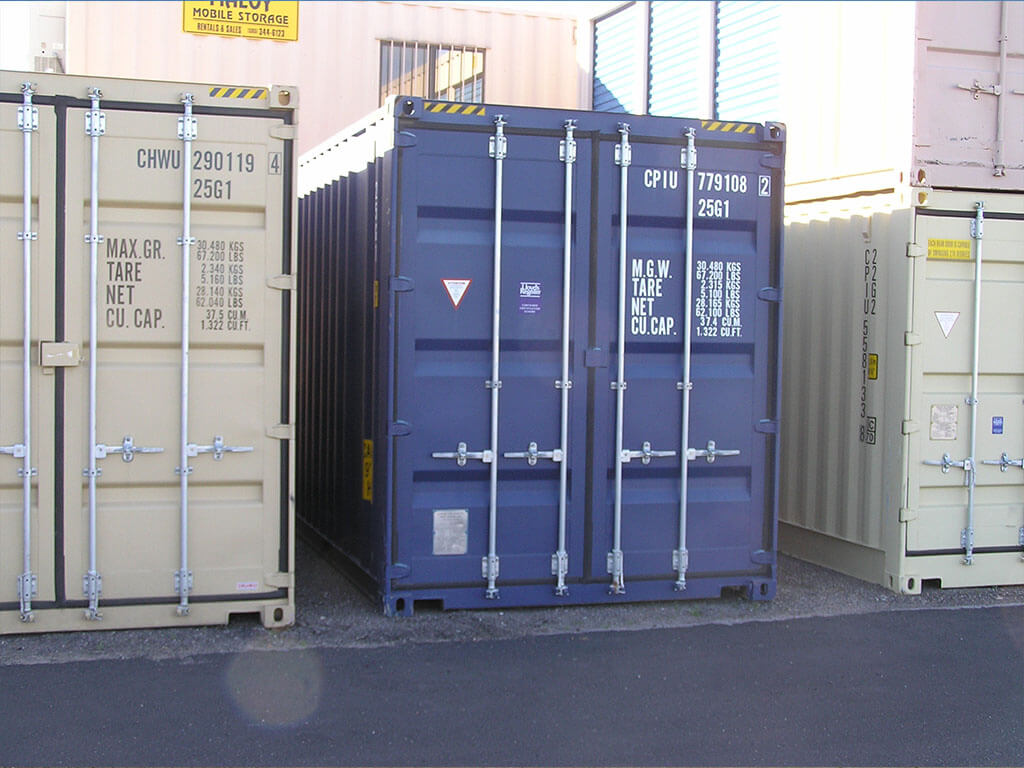 20 39 storage and shipping containers maloy mobile storage for Tall shipping container