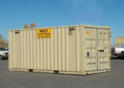 20' Rental Steel New with Signs Lockbox and Vents