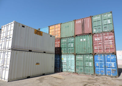 20' Used Steel Container