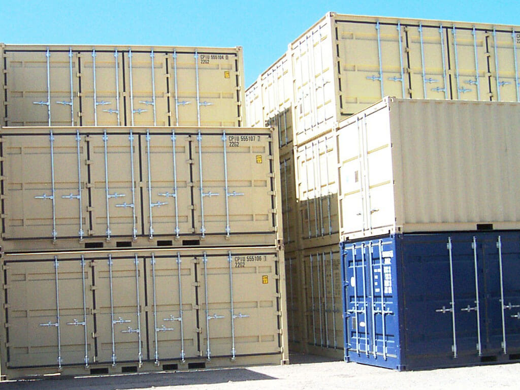 100 Steel Containers Shipping Containers Shipping
