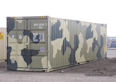 40' Camo Container