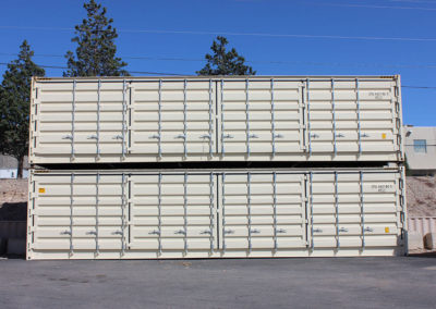 40' New with Cargo doors on side and cargo doors on one end