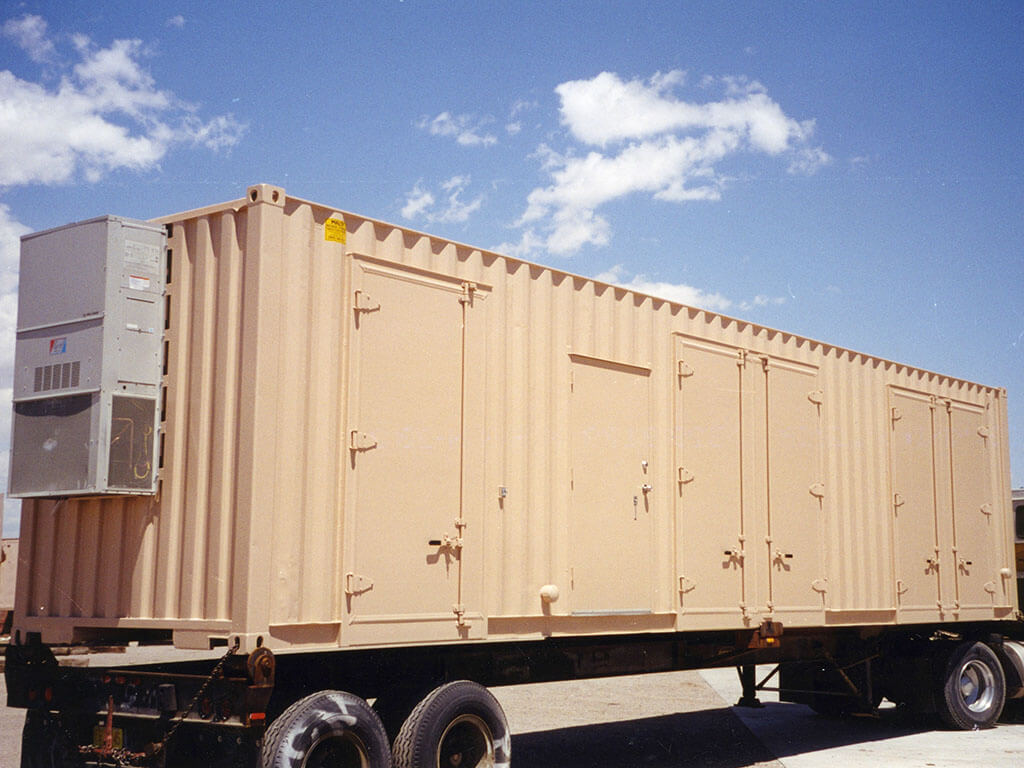 40' Storage and Shipping Containers | Maloy Mobile Storage