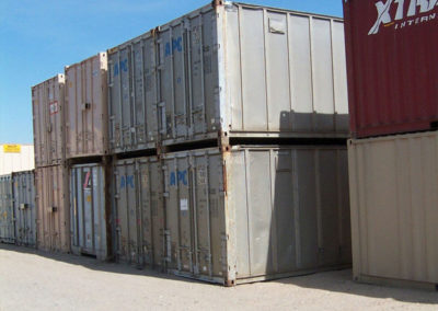 40' Used Aluminum Containers