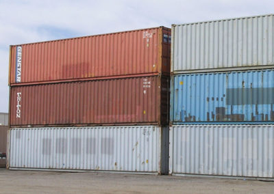 40' Used Steel Containers
