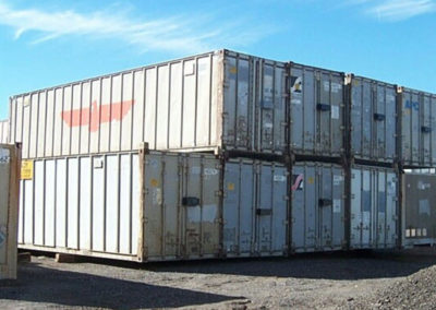 45' Used Aluminum Containers