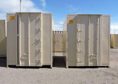 10' Custom Single Door Container