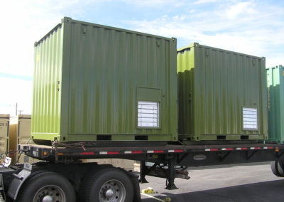10' Green Custom Container