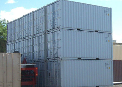 20' Gray New Steel Containers