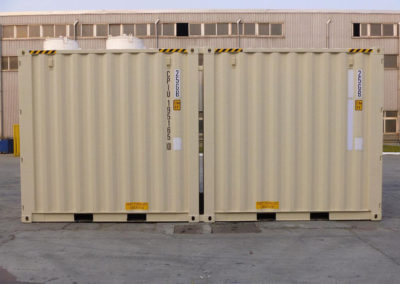10' Container Side by Side View