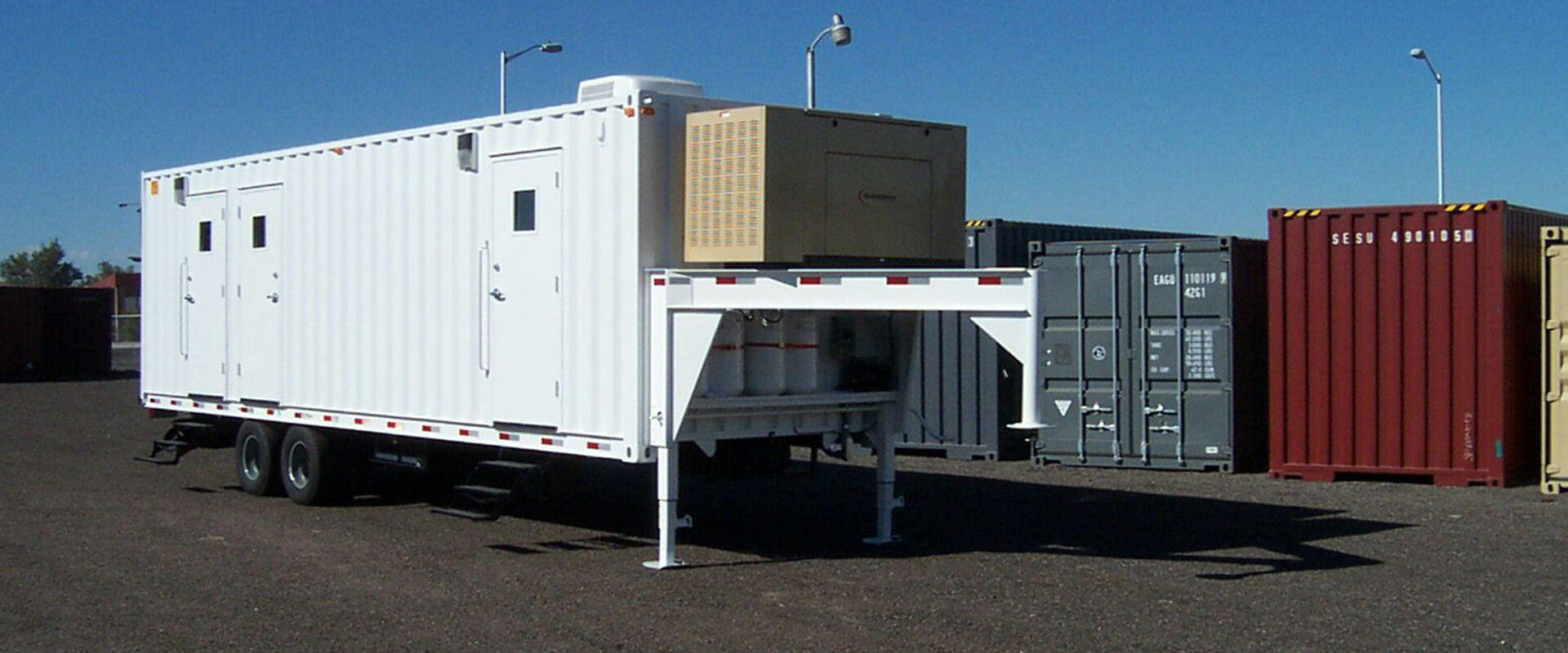 Shipping Container Trailer >> Storage Containers Albuquerque Portable Shipping Maloy Mobile