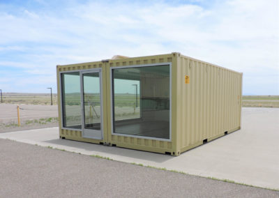 CUSTOM MODIFIED 16′ X 20′ CONTAINER